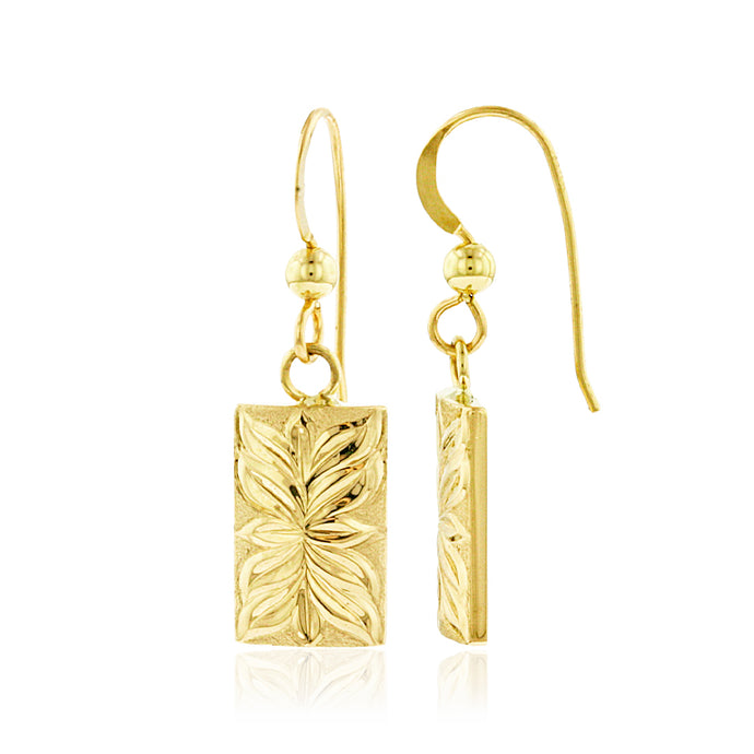 Iolani Maile Dangle Earrings - Philip Rickard
