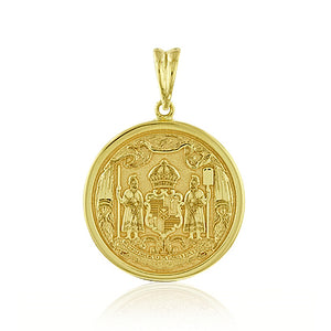 Large Coat Of Arms Pendant - Philip Rickard