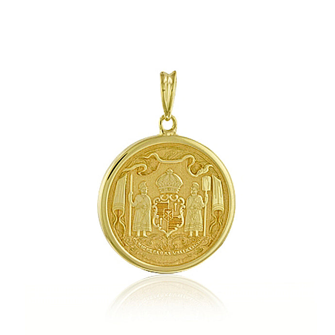 Medium Coat Of Arms Pendant - Philip Rickard