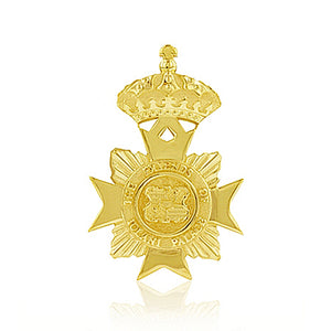 Medium Maltese Cross Pendant - Philip Rickard