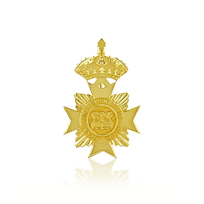 Small Maltese Cross Pendant - Philip Rickard