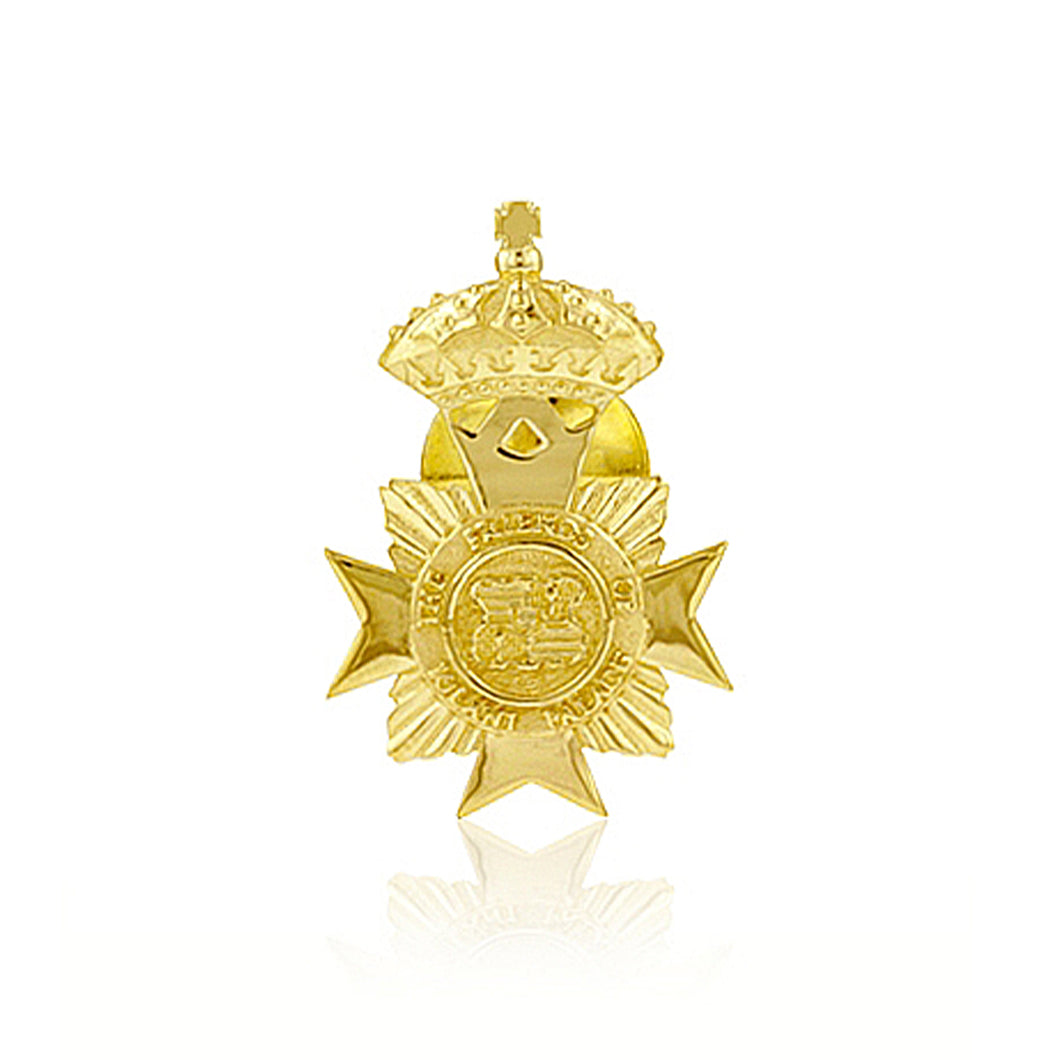 Small Maltese Cross Tie Tack - Philip Rickard