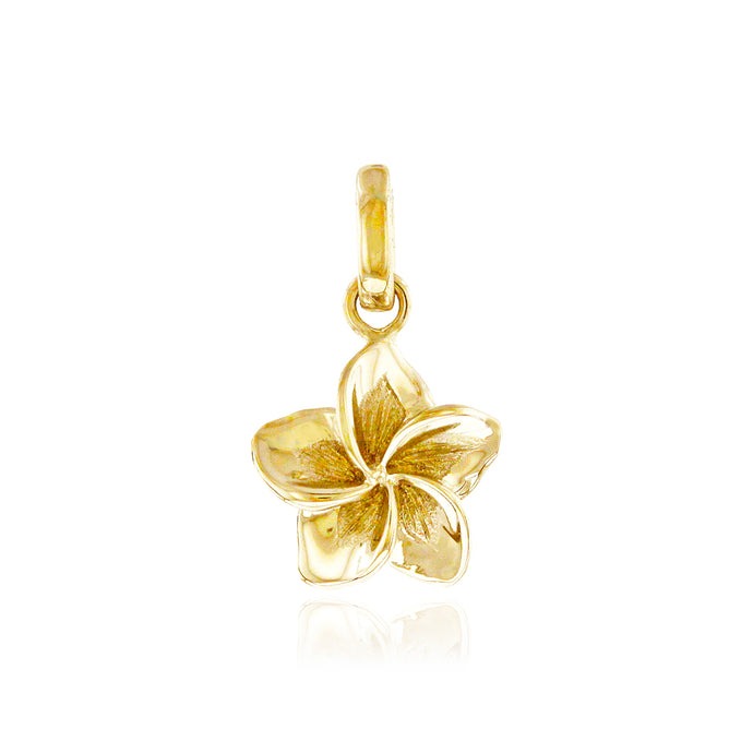 Small Single Plumeria Pendant - Philip Rickard
