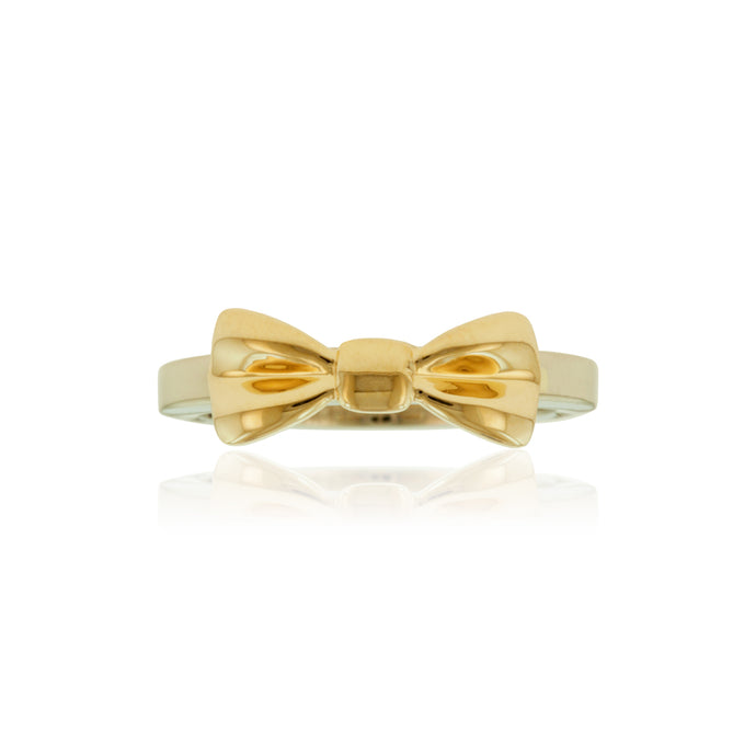 Two-Tone Bow Ring - Philip Rickard