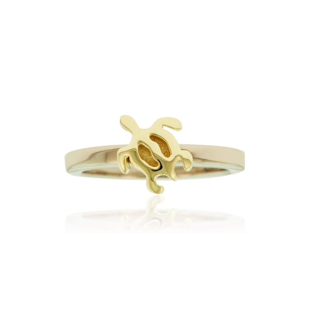 Two-Tone Honu Ring - Philip Rickard