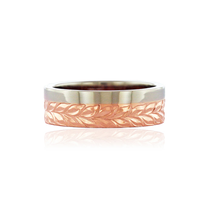Alu Like 6mm Ring - Philip Rickard