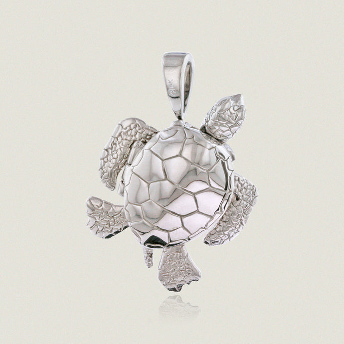 Large Turtle locket w/ moveable body parts - Philip Rickard