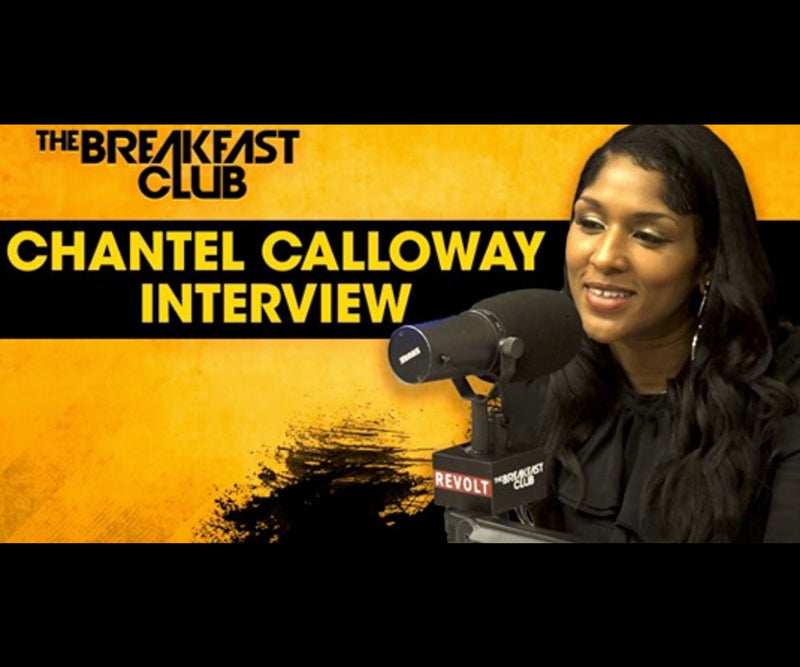 Chantel Calloway Tests Breakfast Club Hip Hop Literacy Skills With 'Rhyme Antics' Game