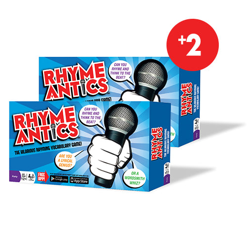 Rhyme Antics - Vocabulary Game<br>(2 Pack)