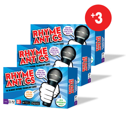 Rhyme Antics - Vocabulary Game<br>(3 Pack)