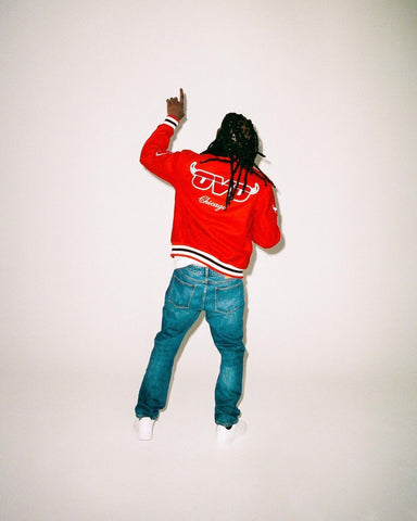 Chief Keef For The Welcome To OVO x NBA Collection