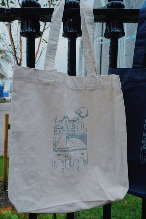 Organic Artist Tote Bag - Natural