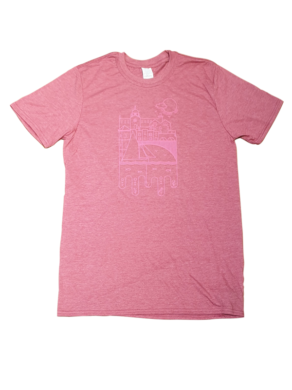 Mens Spanish Arch t-shirt Pink Heather