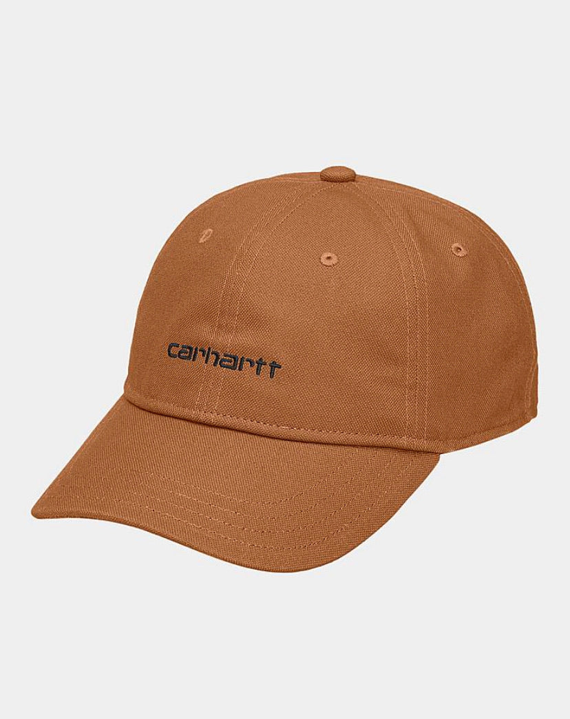 Carhartt Canvas Script Hat - Rum