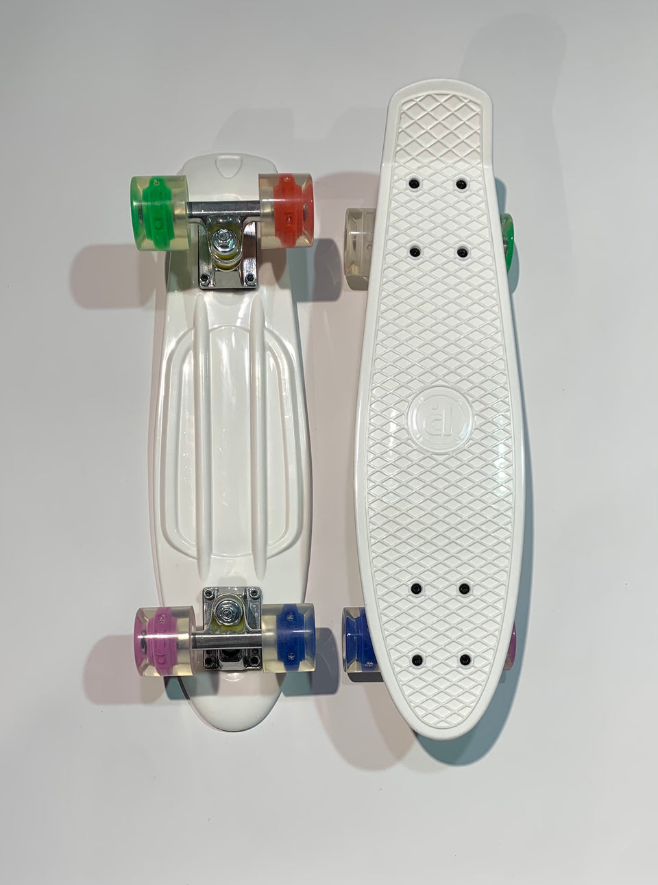 Penny Board Prohibition - White