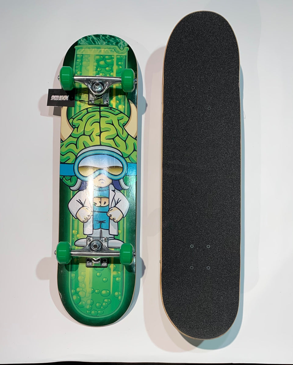 Speed Demon Skateboard - Green