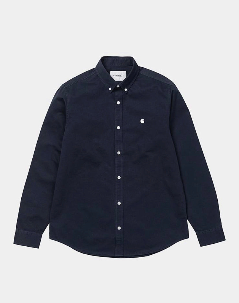 Carhartt Madison Shirt - Dark Navy