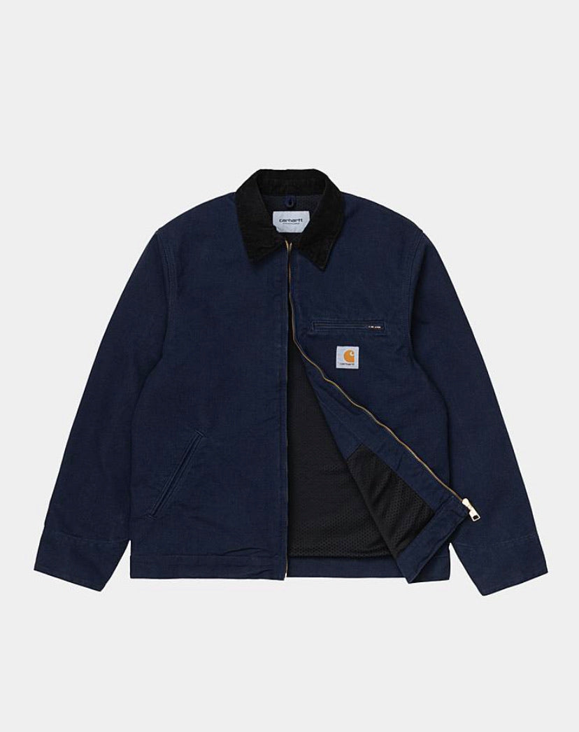 Carhartt Detroit Jacket - Dark Navy (rinsed)
