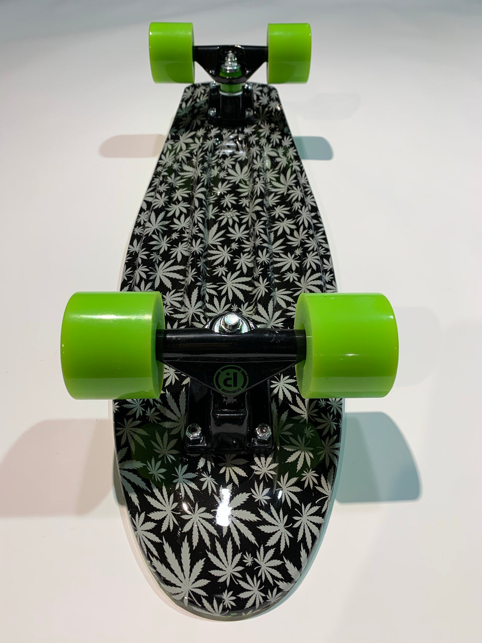 Penny Board Prohibition - Green/Leaf