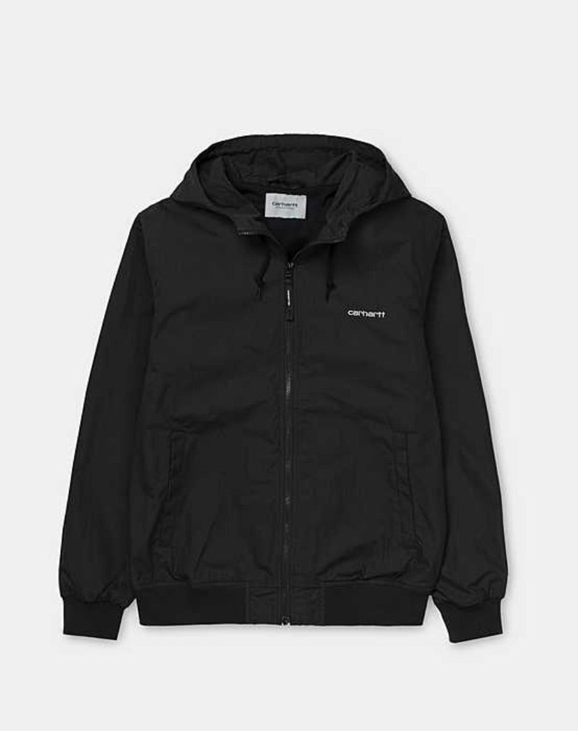 The classic Carhartt marsh jacket in black