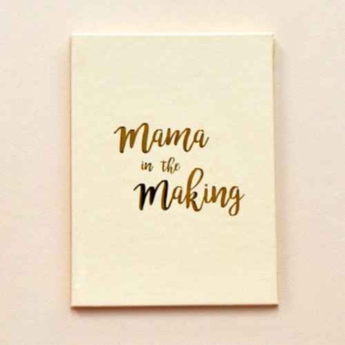 Mama In The Making - Pregnancy Journal