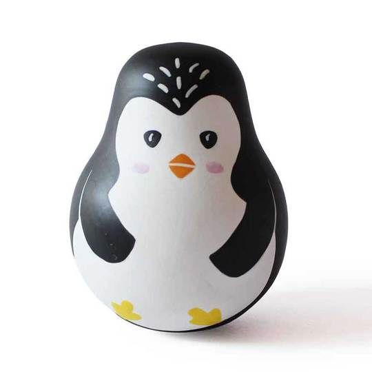 Wobbly Penguin - Roly Poly Toys for Toddlers