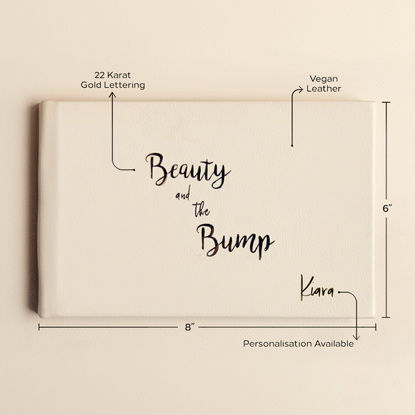 Beauty And The Bump - Baby Shower Book