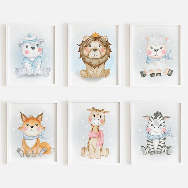 Cute Animal Frames (Set of 6)
