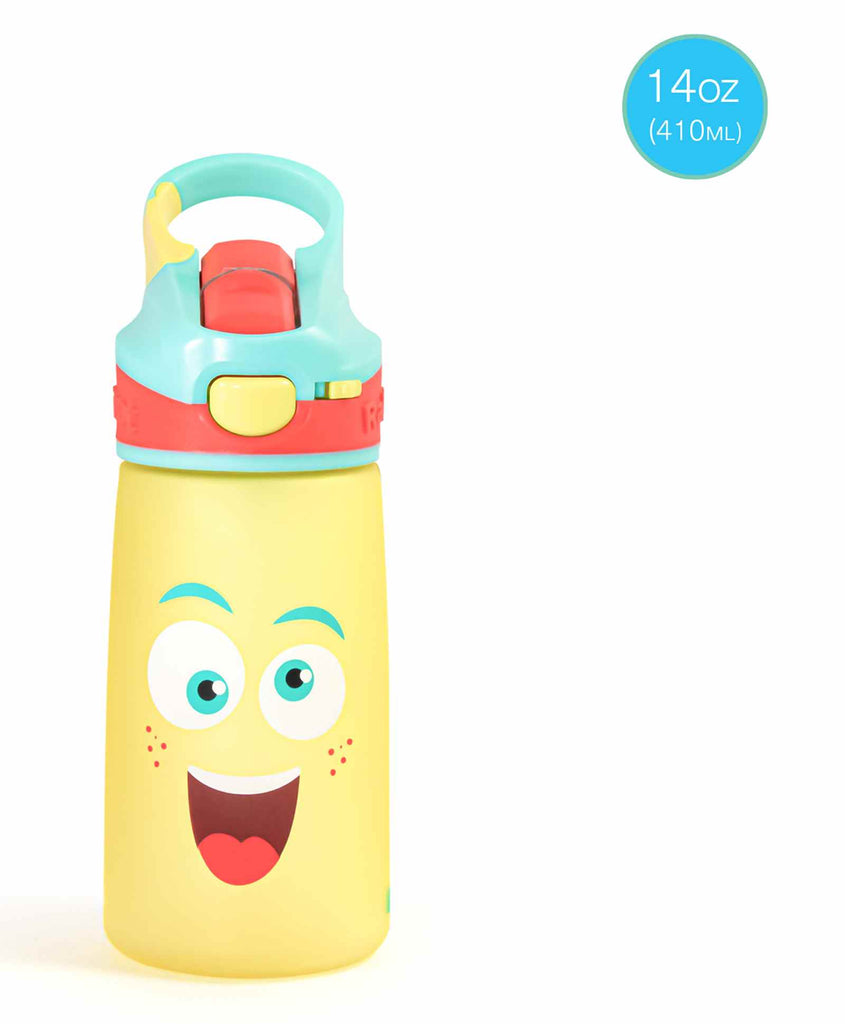 Snap Lock Sipper Bottle (410ml, Mad Eye)