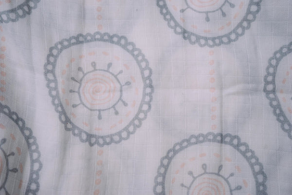 Mandala Pastel Circles Single Swaddle, 43