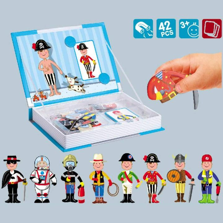 Magnetic book- Professional Dress up