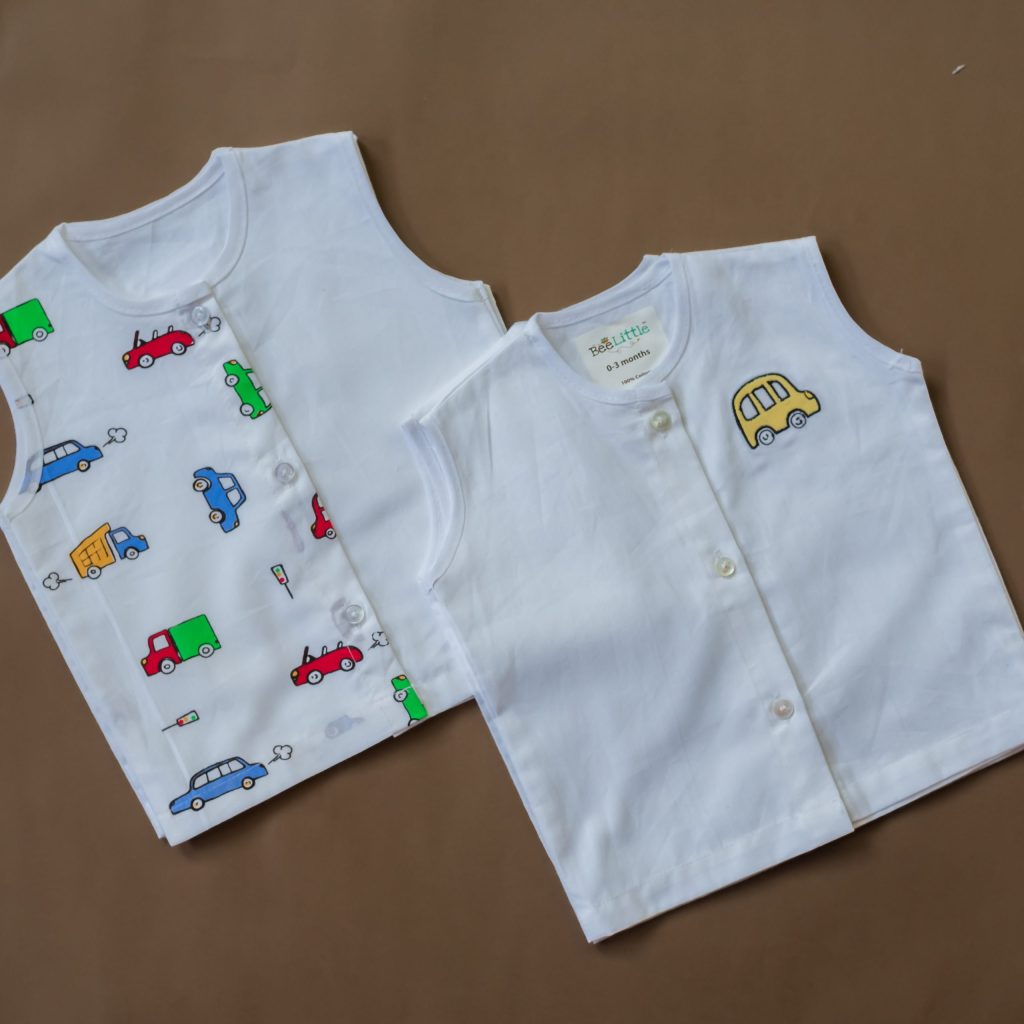 Organic Cotton Jabla 2 Pc Combo Pack - Traffic Jam