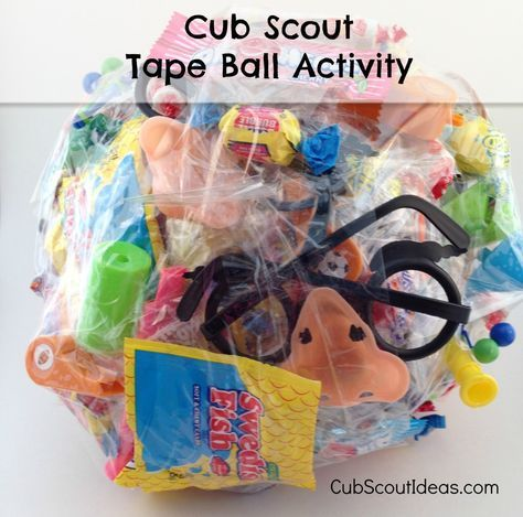 candy tape ball