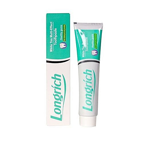 [Longrich] White Tea Multi Effect Toothpaste 10+1