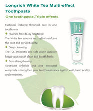 Load image into Gallery viewer, [Longrich] White Tea Multi Effect Toothpaste 10+1
