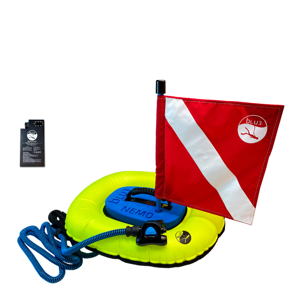 Dive System Nemo-NO-1 with 1 Battery Both Dive Flags BLU3 8501193