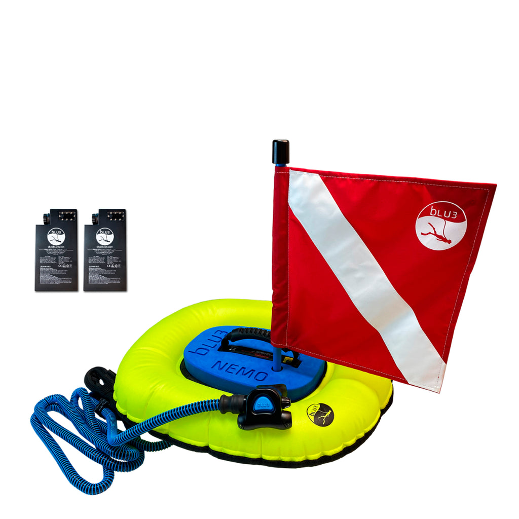 Dive System Nemo-NO-2 with 2 Batteries Both Dive Flags BLU3 8501209
