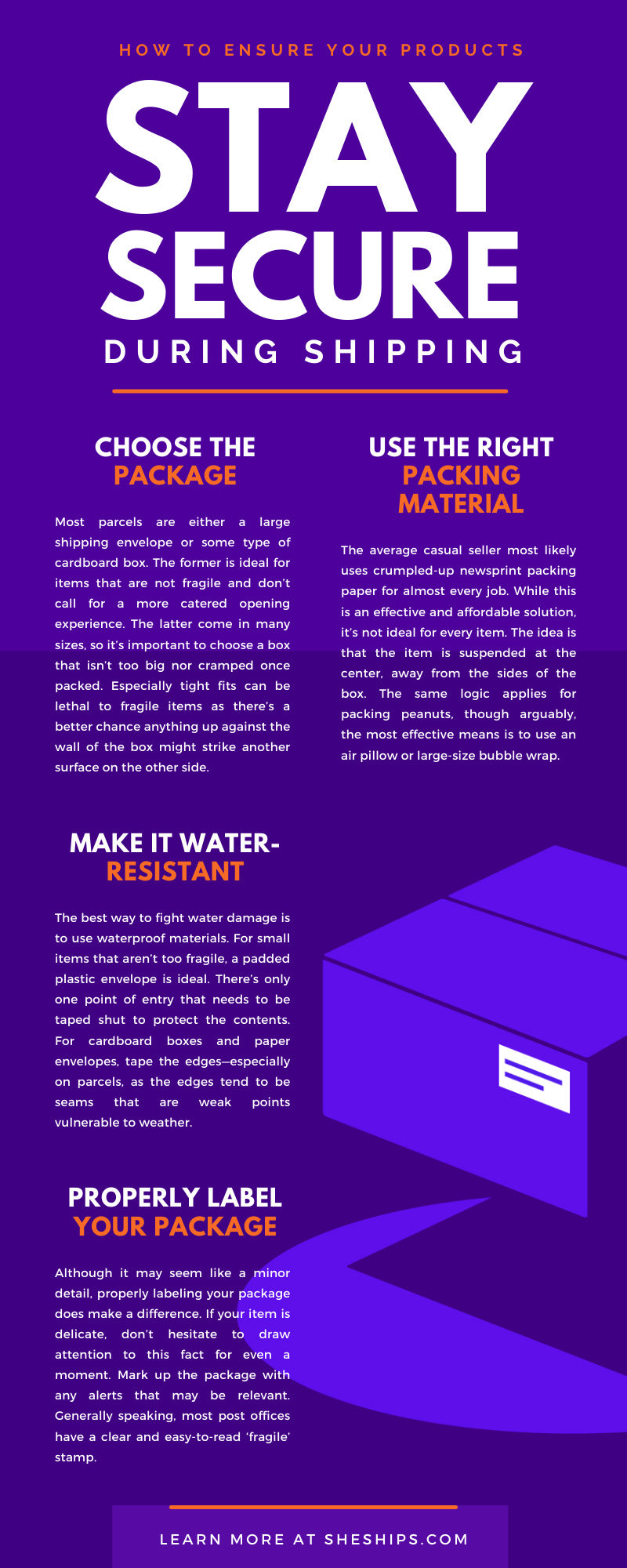 How To Ensure Your Products Stay Secure During Shipping