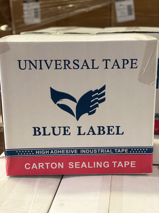 "2"" Carton Sealing Tape (Clear/Tan) - 90 Yards 1.9 Mil"