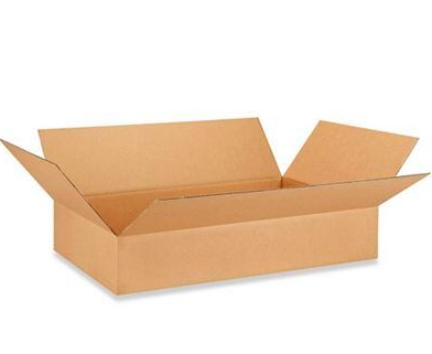 "24 x 16 x 4"" Corrugated Boxes, 25 Per Bundle"