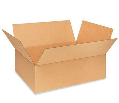 "18 x 12 x 5"" Corrugated Boxes, 25 Per Bundle"
