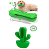 MustGrasp Cactus Dog Toothbrush
