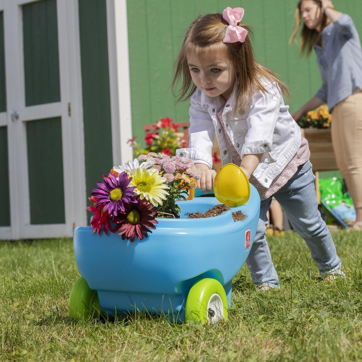 Springtime Wheelbarrow