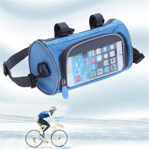 Touch screen riding bag
