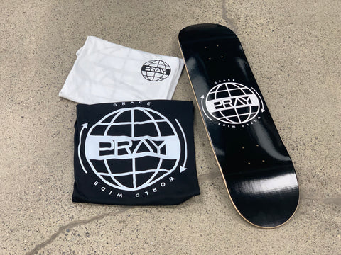 Grace World Wide (Deck + Shirts) Combo Pack