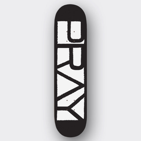 Grunge Flagship Deck Black and White