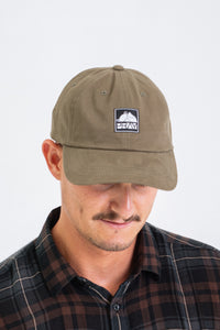 Core Tag Dad Hat Army Green