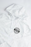 Grace World Wide White Camo Crop Windbreaker