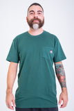 Core Tag Pocket Tee Forest Heather
