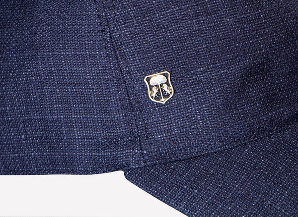 Corneliani mens summer linen hat
